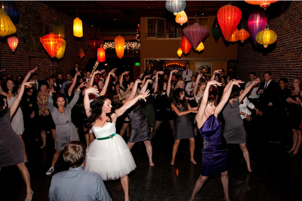 Wedding Reception Flash Mob